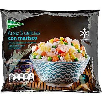 El Corte Inglés Arroz tres delicias con marisco bolsa 500 g bolsa 500 g