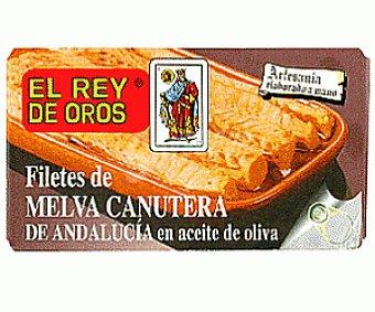 Rey de Oros Filete Melva Canutera en Aceite Oliva 85 Gramos