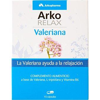 ARKOPHARMA Arko Relax Valeriana ayuda a la relajación ápsulas caja 15 c