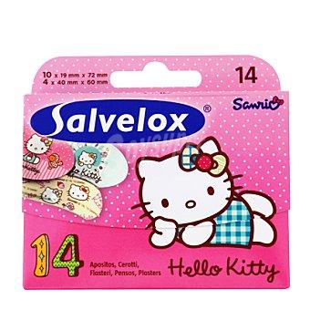 Salvequick Apósitos Hello Kitty Caja 14 Unidades