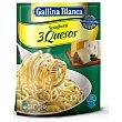 Spaghetti a los 3 quesos Sobre 170 g Gallina Blanca