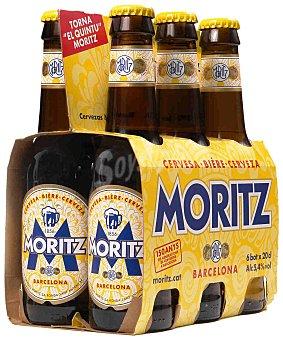 Moritz Cerveza Pack 6x20 cl