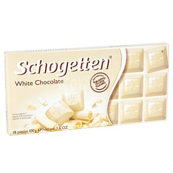SCHOGETTEN White chocolate tableta 100 gr Tableta 100 gr