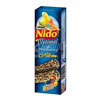 Nido Purina Comida para canarios Canto Complementaria Barritas con Miel 1 Ud
