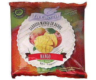 La Cuerva Mango cortado en dados, 100% natural y sin conservantes ni colorantes 300 g