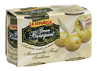 La Española Aceitunas Verdes con Hueso Gran Bouquet La Española 400 g