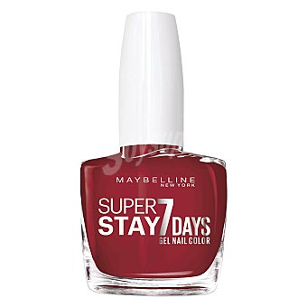 Maybelline New York Laca uñas forever strong 06 deep red 1 ud
