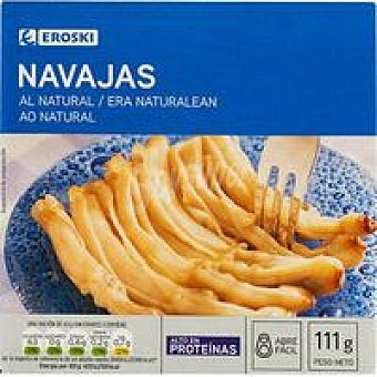 Eroski Navaja al natural Lata 110 g