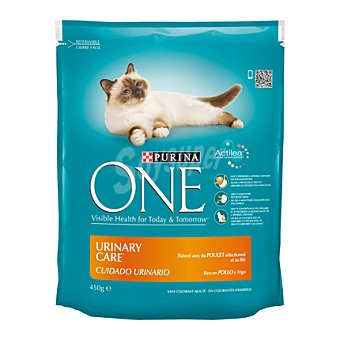 One Purina Comida para gatos purina Cuidado Urinario 450 gr