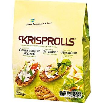 Krisprolls Panecillos suecos integrales sin azúcar Paquete 225 g