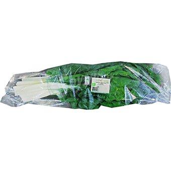 Acelgas ecológicas pencas peso aproximado Manojo 850 g