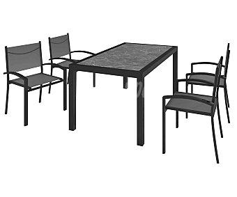 KACTUS REPUBLIC Millenium Conjunto de jardín compuesto de mesa + sillas, Republic.