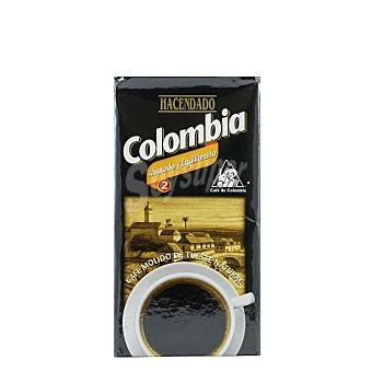 Hacendado Cafe molido natural colombia Nº 2 (afrutado y equilibrado) Paquete 250 g