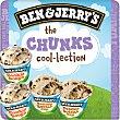 The Chunks helado de crema y cookies y helado de crema de cacahuetes 2 unidades estuche 400 ml 2 unidades Ben & Jerry's
