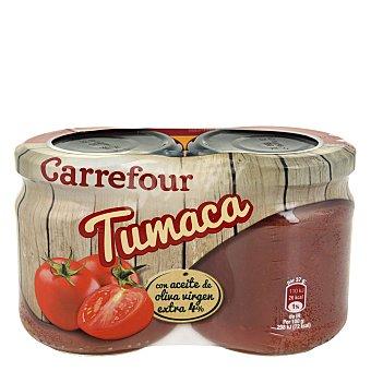 Carrefour Tumaca natural con aceite de oliva 370 g