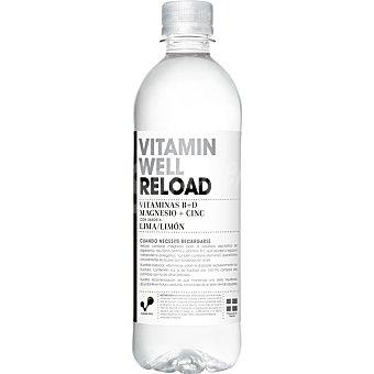VITAMIN WELL RELOAD Bebida isotónica con sabor lima limón con vitaminas B+D magnesio+cinc botella 50 cl Botella 50 cl
