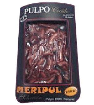 Puntas de pulpo cocido Envase de 250 g