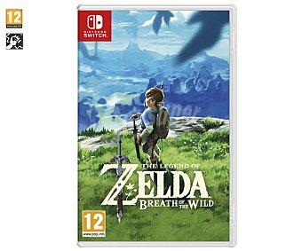 Nintendo The legend of Zelda Breath of the wild para Nintendo Switch. Género: acción, rol, aventura. pegi: 12 The lengend of Zelda Breath of the wild Switch