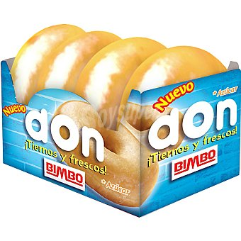 Bimbo Don azucar envase 208 g 4 unidades