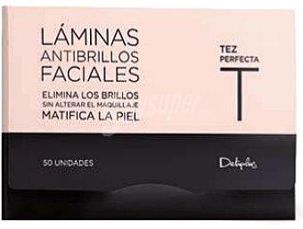 Deliplus Toallitas faciales antibrillos 50 u