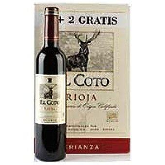 Coto Vino Tinto Crianza Rioja Pack 4+2x50 cl