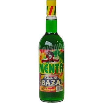 Dama de Baza Refresco concentrado de menta sin alcohol Botella 1 l