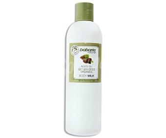 Babaria Body Milk aceite de almendras orgánico 400 Mililitros