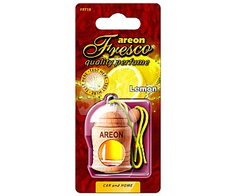 AREON Ambientador de coche con perfumador de madera para colgar con olor a limón 1 unidad