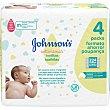 Toallitas infantiles Cotton Touch 4 paquetes 56 unidades Johnson's Baby