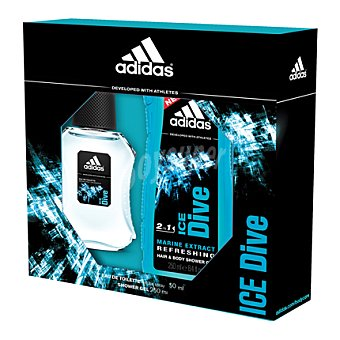 Adidas Estuche colonia Ice Dive spray 50 ml. + gel 250 ml. 1 ud