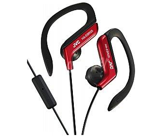 Jvc Auricular deportivo, con cable, color rojo HA-EBR25-R-E