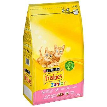 Purina Friskies Pienso para gatos junior especial para gatitos lactantes Saco 1,5 kg