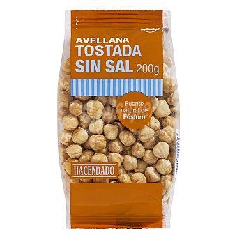 Hacendado Avellana tostada Paquete 200 g