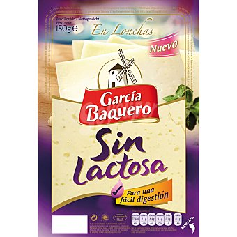 García Baquero Queso en lonchas sin lactosa Envase 150 g