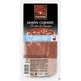 Campofrío Jamón curado menos sal Sobre 50 g