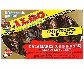 Albo Chipirón relleno en su tinta Lata 115 g