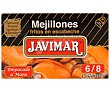 Mejillones en escabeche 6/8 pzs 115 g Javimar