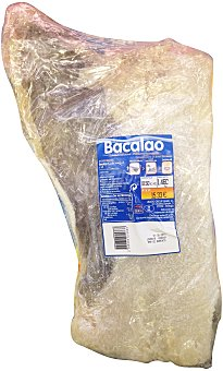 Ubago Bacalao salado fileton pieza grande u 1500 g
