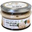 Mousse de coliflor con queso Frasco 130 g Zubia