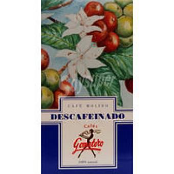 GOMETERO Café molido descafeinado Paquete 250 g
