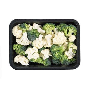 COLIFLOR + brócoli aprox Bandeja 400 gr