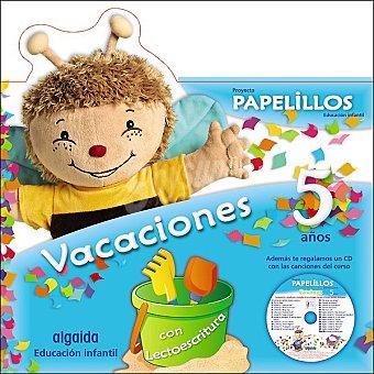 ANAYA Cuaderno de vacaciones Papelillos +3 años