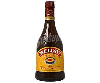 MELODY licor de crema catalana  botella 70 cl