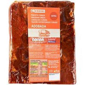 Eroski Panceta curada adobada 100 g