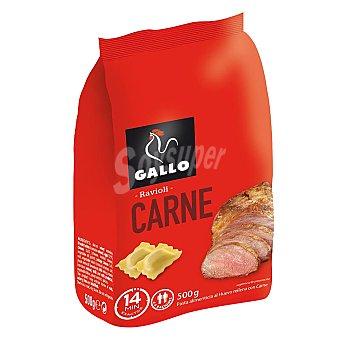Gallo Ravioli carne 500G