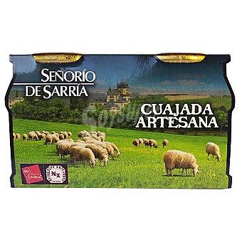 Señorio de Sarria Cuajada artesana Pack 2 unidades 140 g