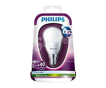 Philips Bombilla led esférica 5.5 Wattios, con casquillo E14 (fino) y luz blanca 1 unidad