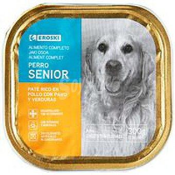 Eroski Senior Pate Pollo para perros 300g