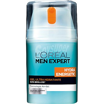 Men Expert L'Oréal Paris Gel hidratante Energetic Bote 50 ml