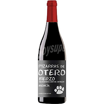 PIZARRAS DE OTERO Vino tinto mencía D.O. Bierzo botella 75 cl 75 cl